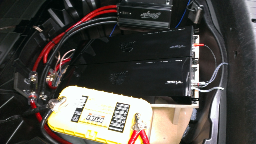 car audio power supply upgrade