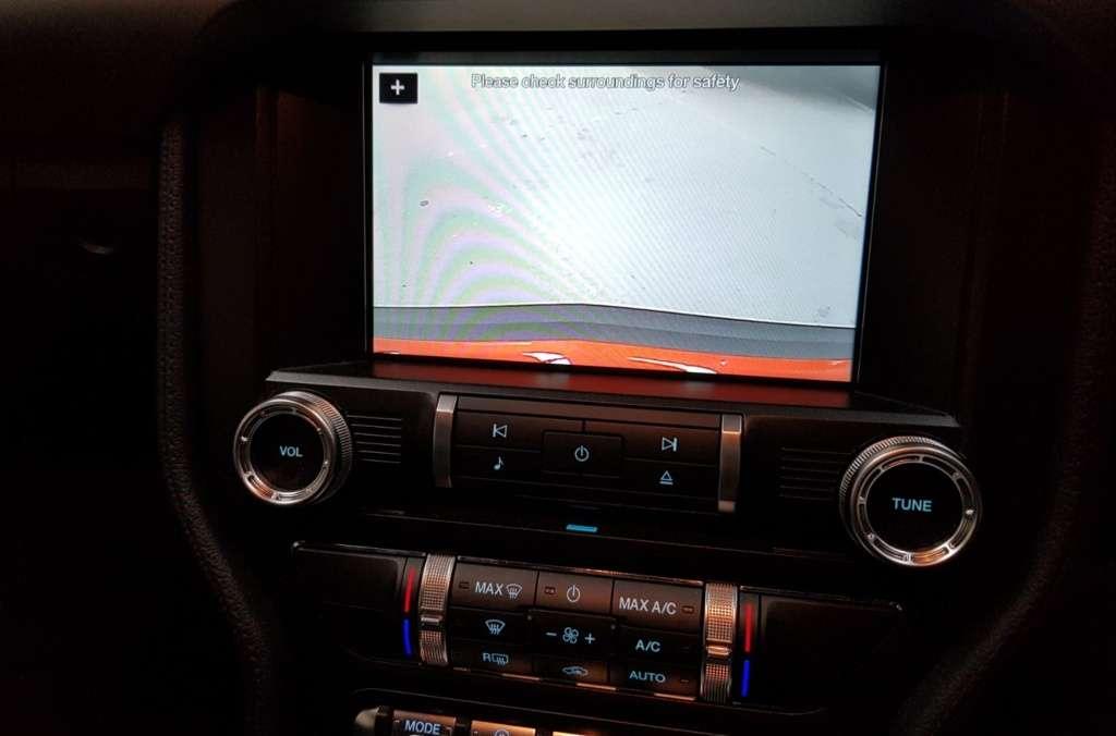 Car reversing cameras